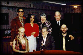 Standing: (from left) Hal Potter, Ila Lawton, Peggy Haggerty, and Brian Winfield Seated: (from left) Maggie Gray, Bob Lawton, and Robin Dawes